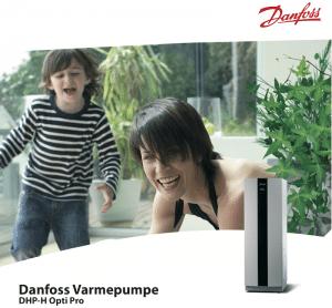 Danfoss Jordvarmepumpe